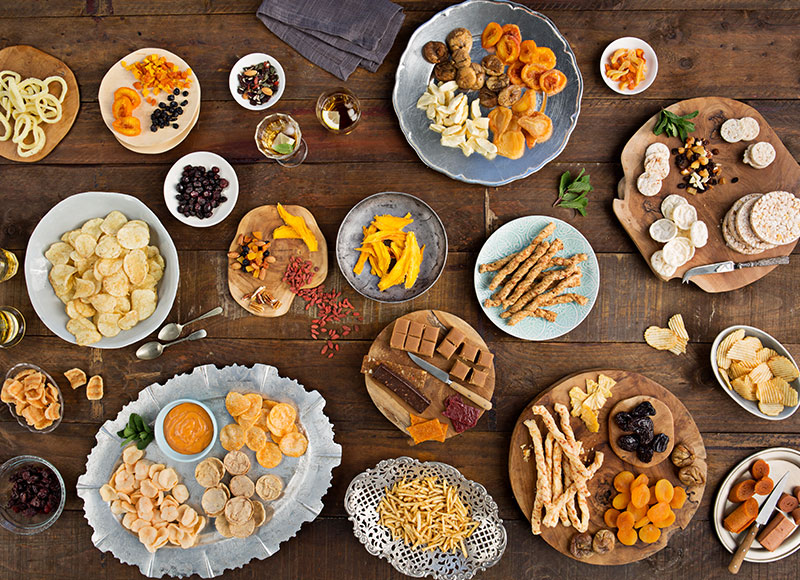 Snacks, dried fruit & nut products